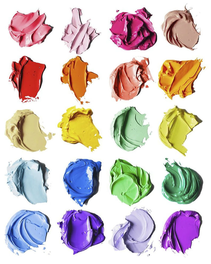 Complimentary Colors Amazingly Hyper Realistic Paint Blob Pencil Drawings By Cj Hendry 9