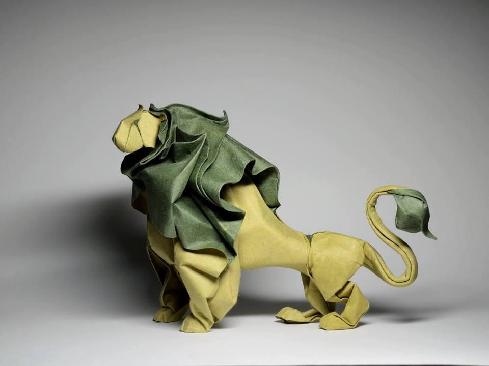 Dizzying Animal Origami Sculptures By Hoang Tien Quyet 1