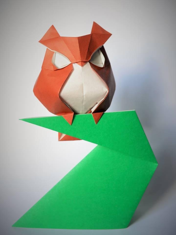 Dizzying Animal Origami Sculptures By Hoang Tien Quyet 10