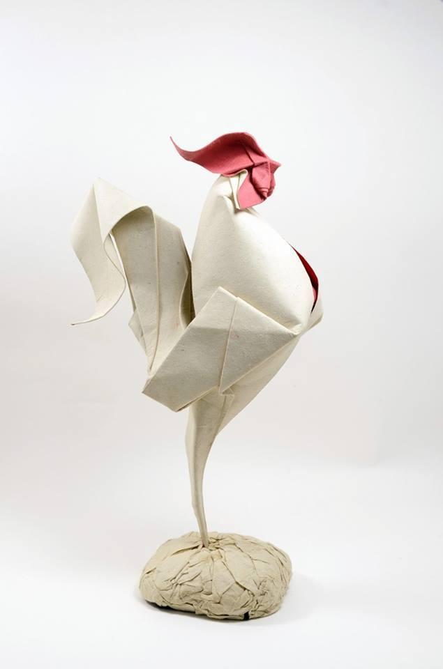 Dizzying Animal Origami Sculptures By Hoang Tien Quyet 2