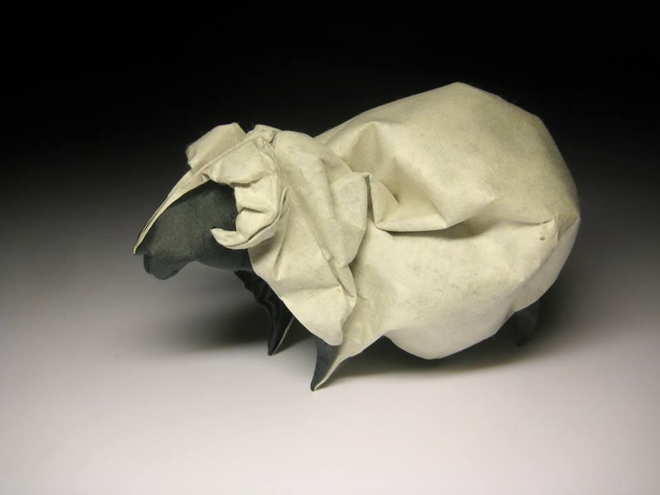 Dizzying Animal Origami Sculptures By Hoang Tien Quyet 3
