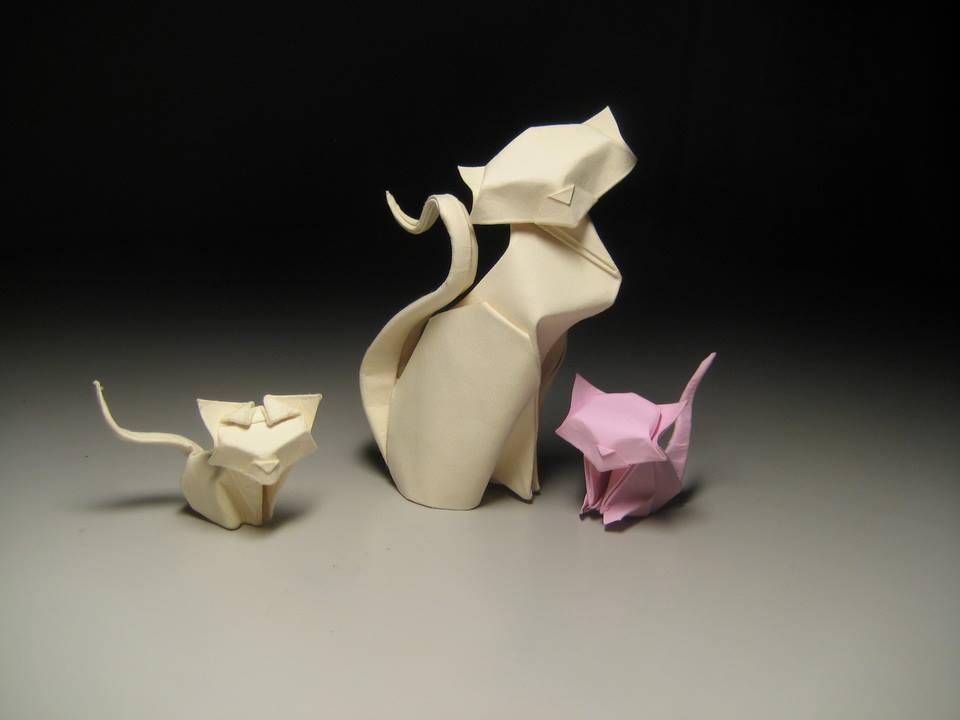 Dizzying Animal Origami Sculptures By Hoang Tien Quyet 5