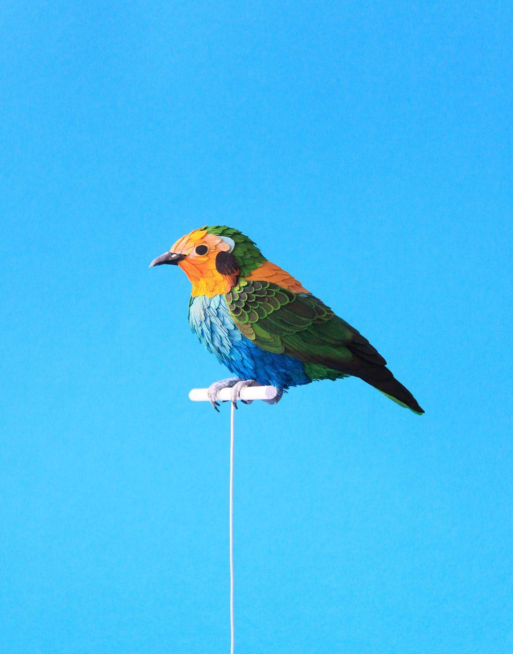 Extraordinary Bird Paper Cut Sculptures By Colombian Artist And Designer Diana Beltran Herrera 1