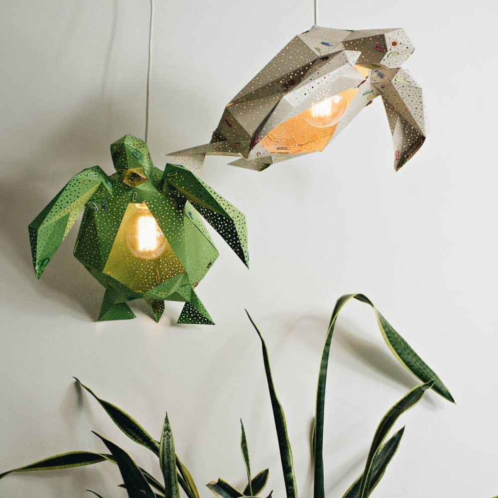 Stunning Pendant Lamps Inspired By Origami And Marine Animals By Vasililights 5