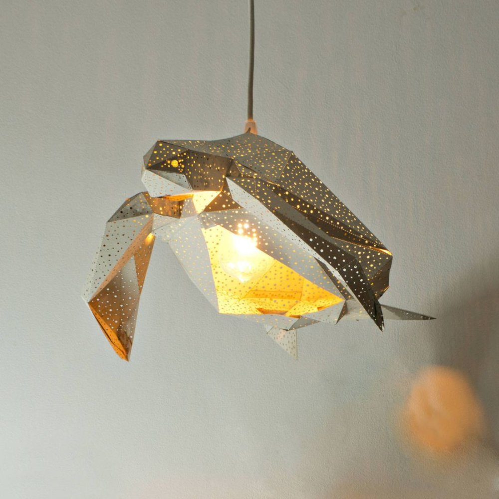 Stunning Pendant Lamps Inspired By Origami And Marine Animals By Vasililights 6