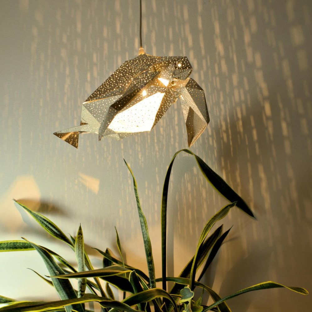 Stunning Pendant Lamps Inspired By Origami And Marine Animals By Vasililights 7