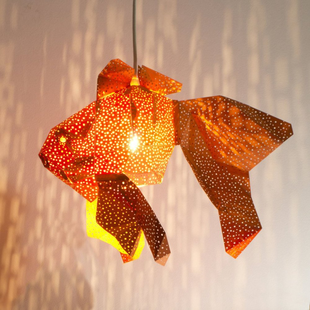Stunning Pendant Lamps Inspired By Origami And Marine Animals By Vasililights 8
