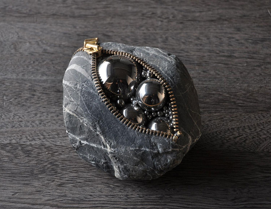 Surprising Intriguing And Funny Stone Sculptures By Hirotoshi Ito 1