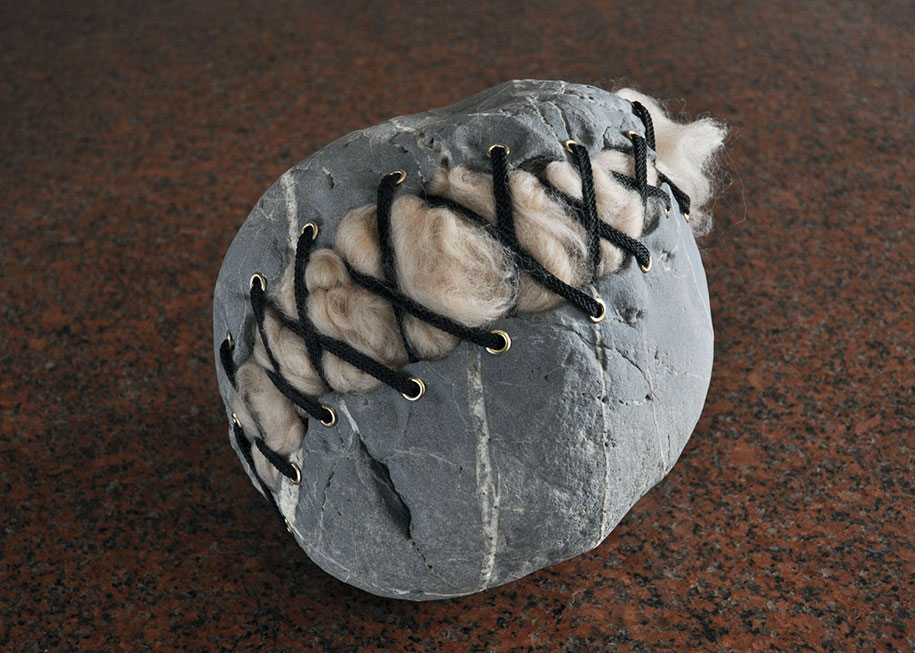 Surprising Intriguing And Funny Stone Sculptures By Hirotoshi Ito 7