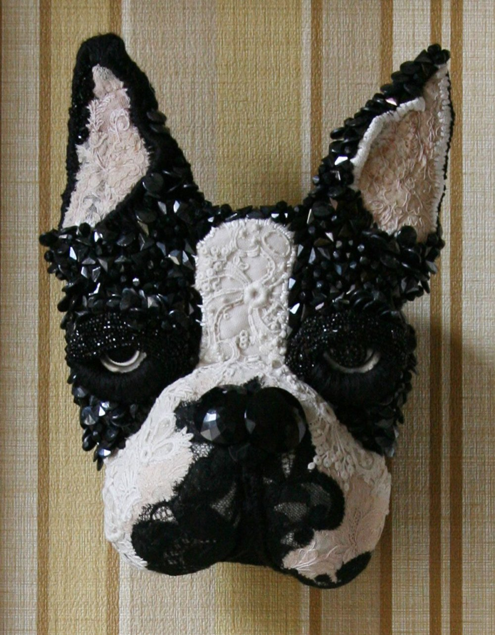 Textile Taxidermy Sculptures Of Animals Made With Antique Fabrics By Donya Coward 6