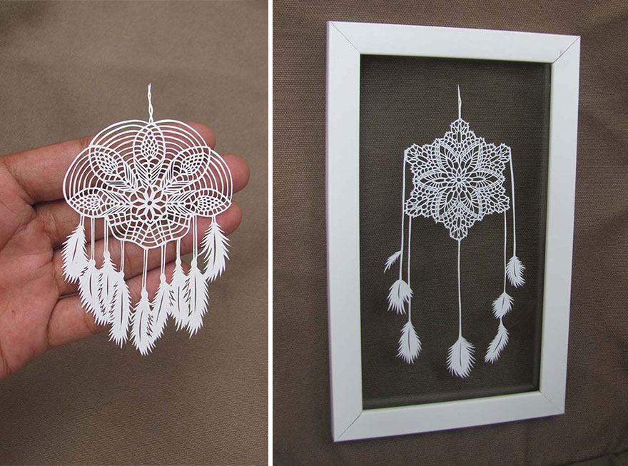 The Beautiful And Delicate Paper Cutting Art Of Parth Kothekar 3