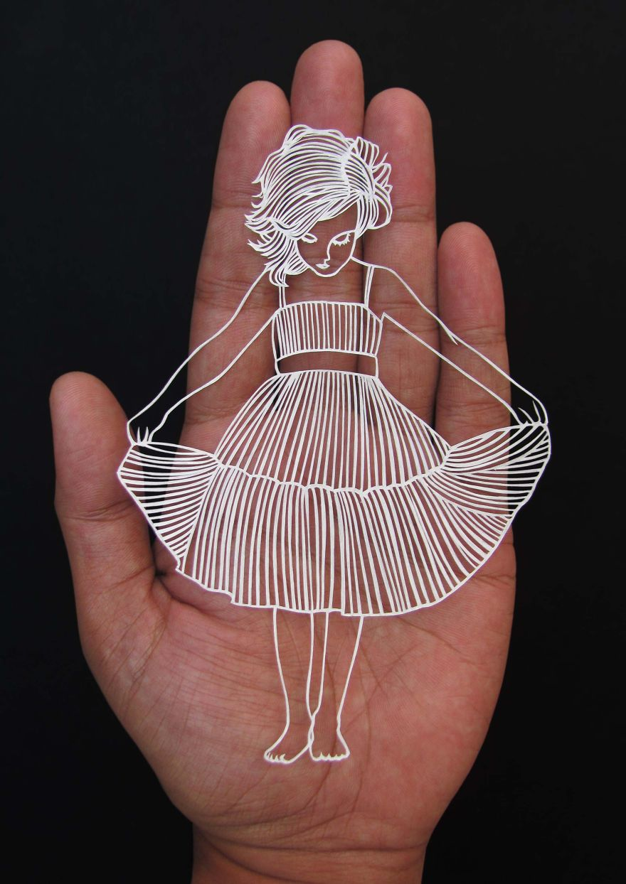 The Beautiful And Delicate Paper Cutting Art Of Parth Kothekar 6