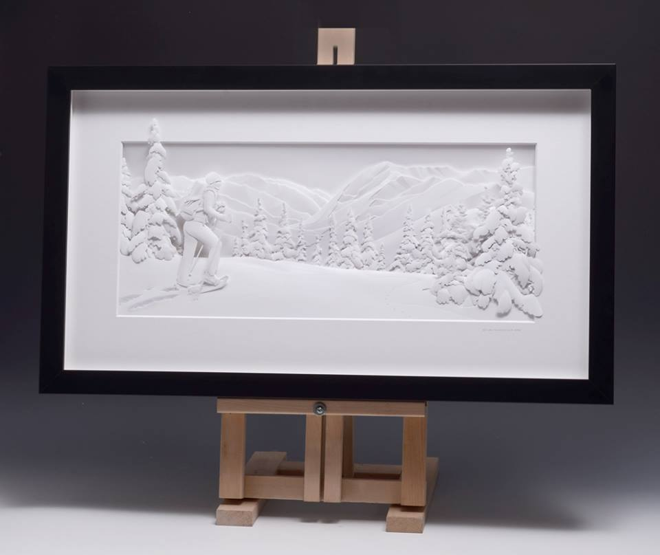 Amazingly Intricate Paper Sculptures Of Animals And Natural Landscapes By Calvin Nicholls 10