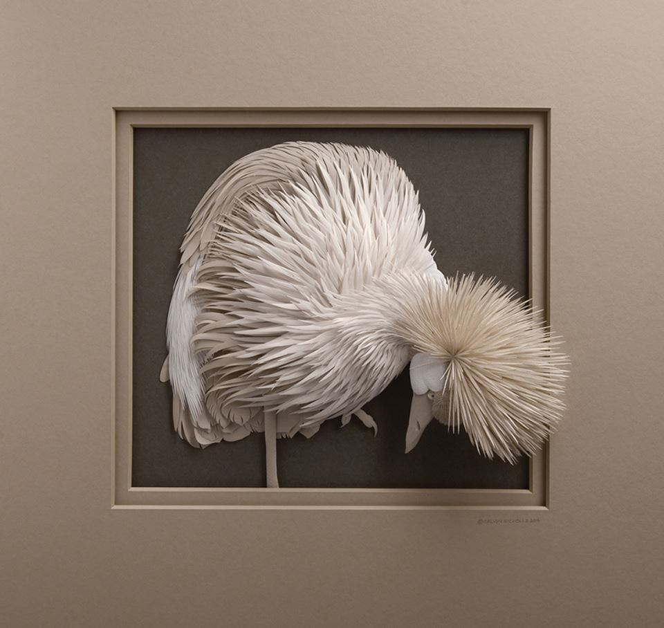 Amazingly Intricate Paper Sculptures Of Animals And Natural Landscapes By Calvin Nicholls 2