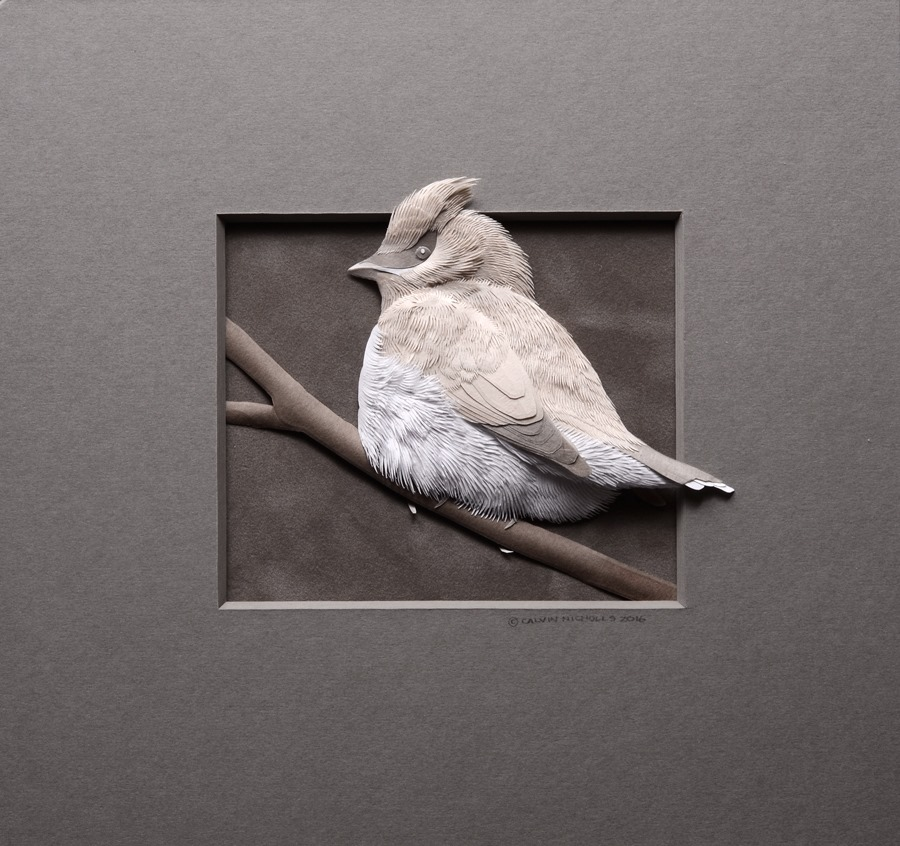 Amazingly Intricate Paper Sculptures Of Animals And Natural Landscapes By Calvin Nicholls 3