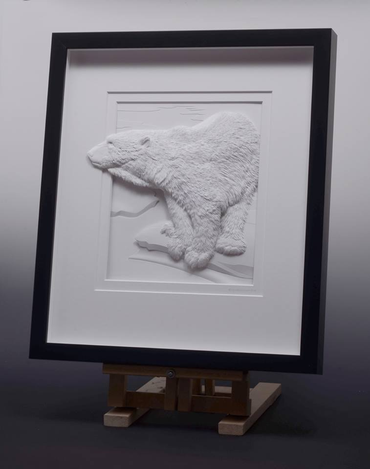 Amazingly Intricate Paper Sculptures Of Animals And Natural Landscapes By Calvin Nicholls 9