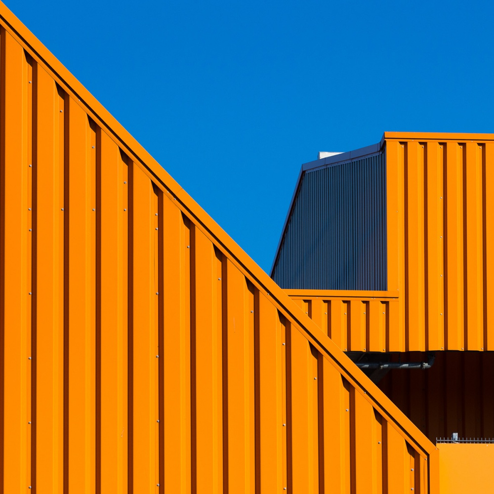 Colorful Boxes: photography series by Andreas Levers