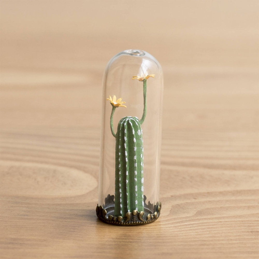 Cute Paper Plants In Miniature By Raya Sader Bujana 4