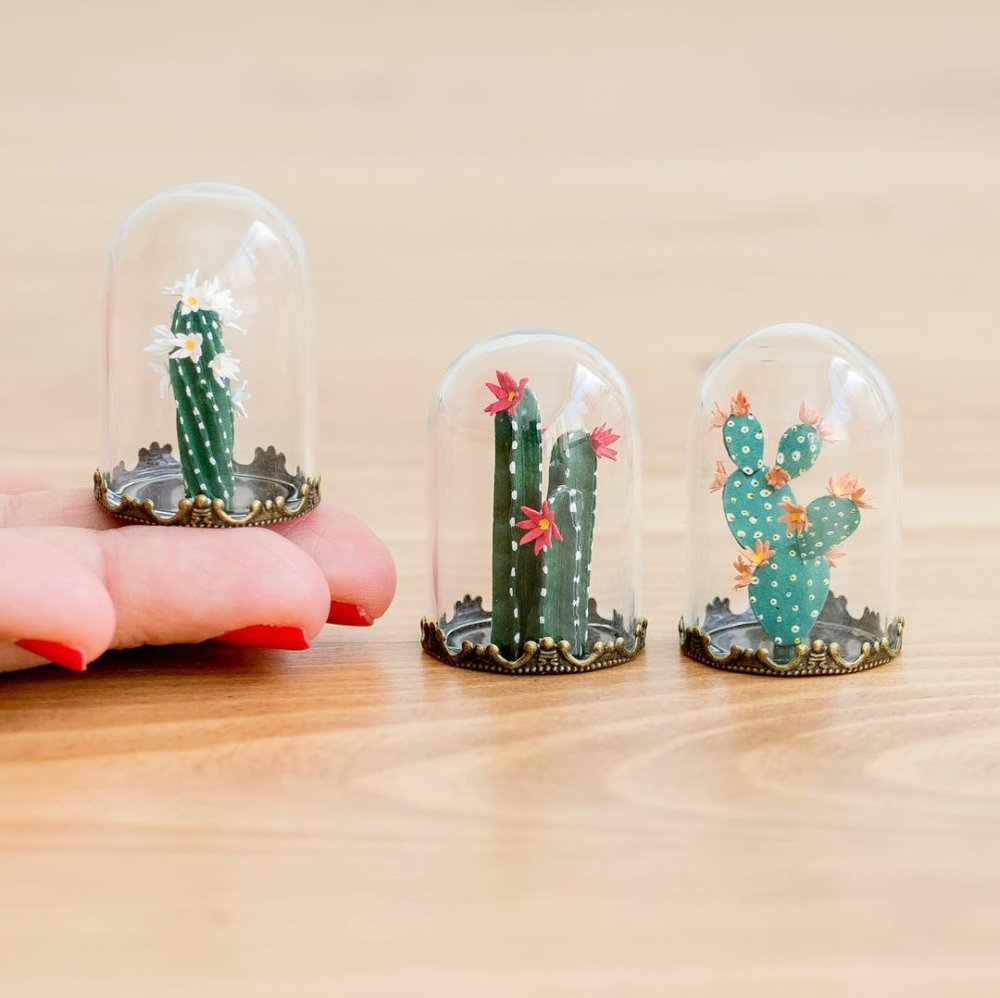 Cute Paper Plants In Miniature By Raya Sader Bujana 5