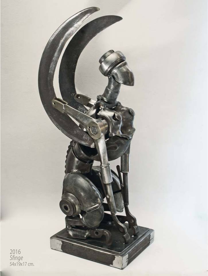 Formidable Scrap Metal Sculptures By Patrick Alo 5
