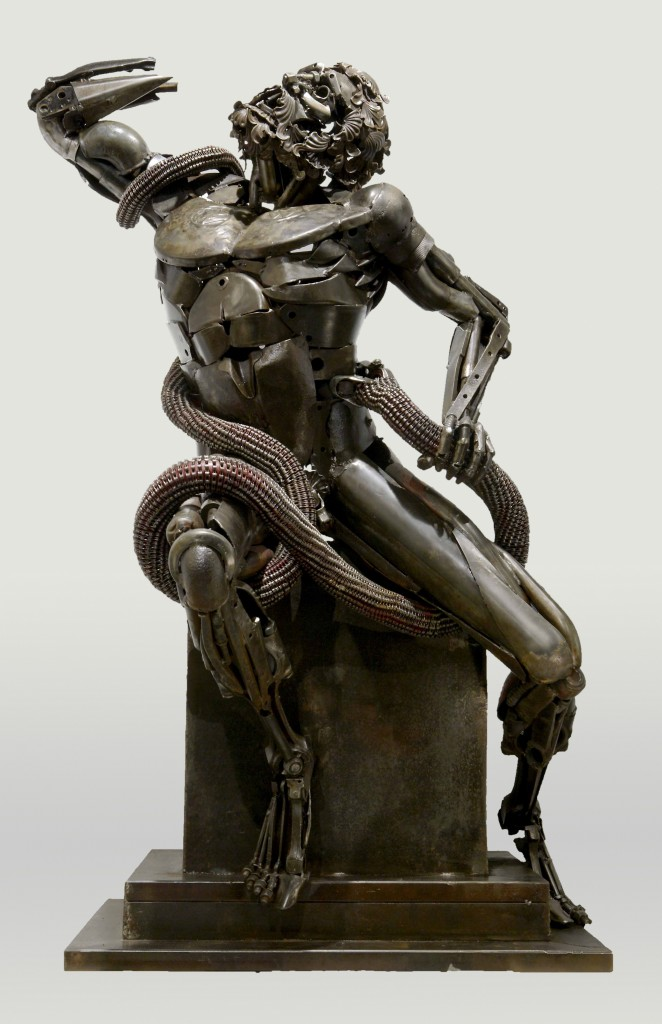 Formidable Scrap Metal Sculptures By Patrick Alo 8