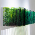 """Layer Drawings"": gorgeous sculptures of three-dimensional landscapes formed with layered acrylic photographs by Nobuhiro Nakanishi"