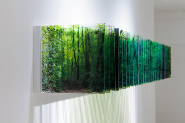 """""""Layer Drawings"""": gorgeous sculptures of three-dimensional landscapes formed with layered acrylic photographs by Nobuhiro Nakanishi"""
