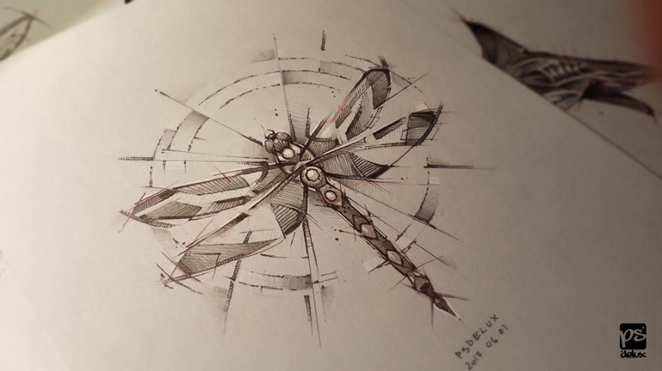 Marvelous Drawings And Sketches Made By A Mysterious Hungarian Artist 2