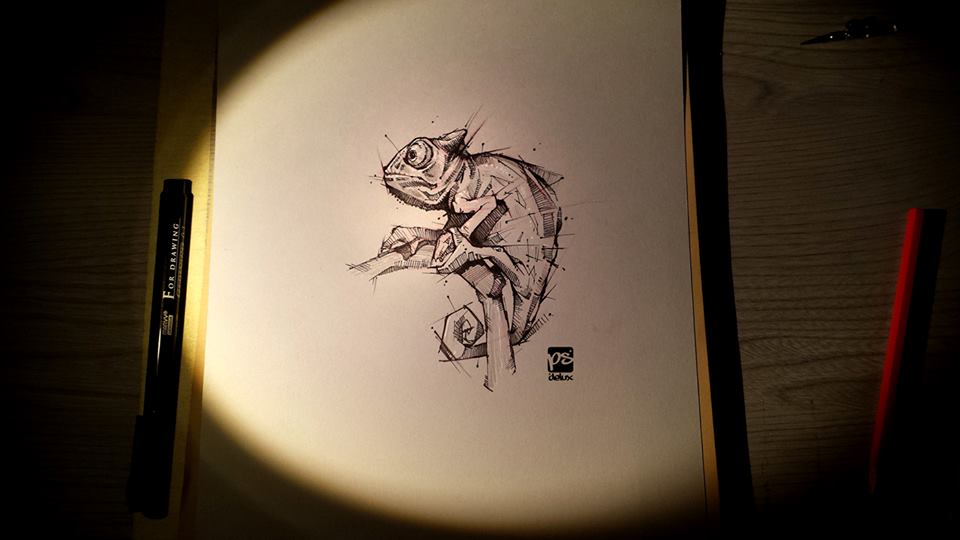 Marvelous Drawings And Sketches Made By A Mysterious Hungarian Artist 6