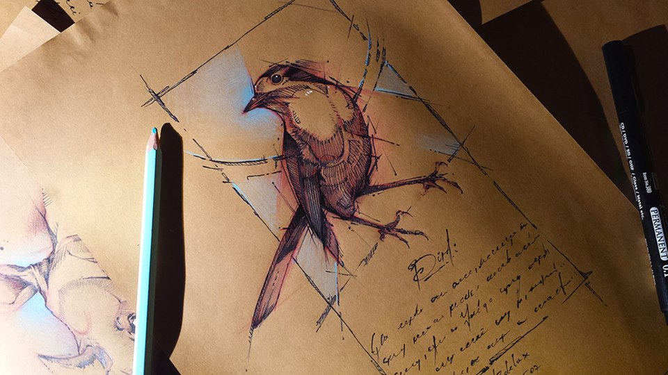 Marvelous Drawings And Sketches Made By A Mysterious Hungarian Artist 8