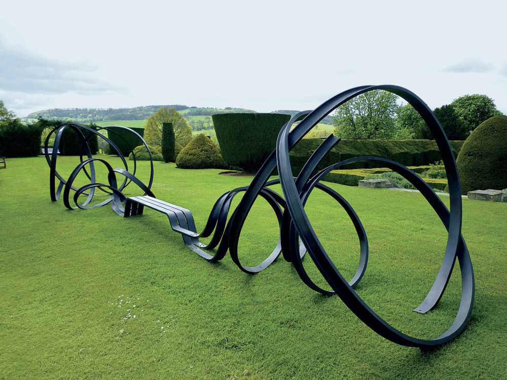 Sculptural Twisted Spaghetti Like Benches By Pablo Reinoso 1