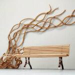 The spaghetti-like benches of Pablo Reinoso