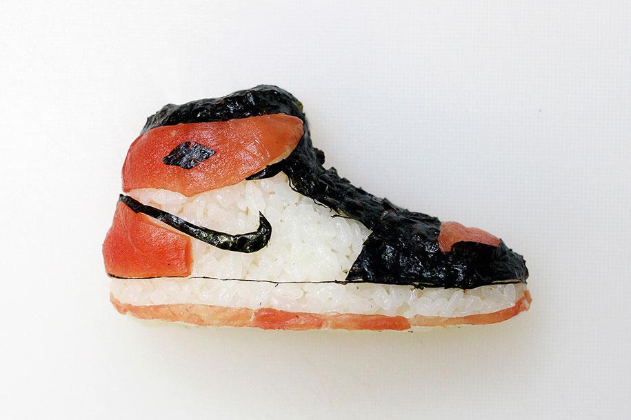 Shoe Shi The Sneakers Made Of Sushi By Yujia Hu 1