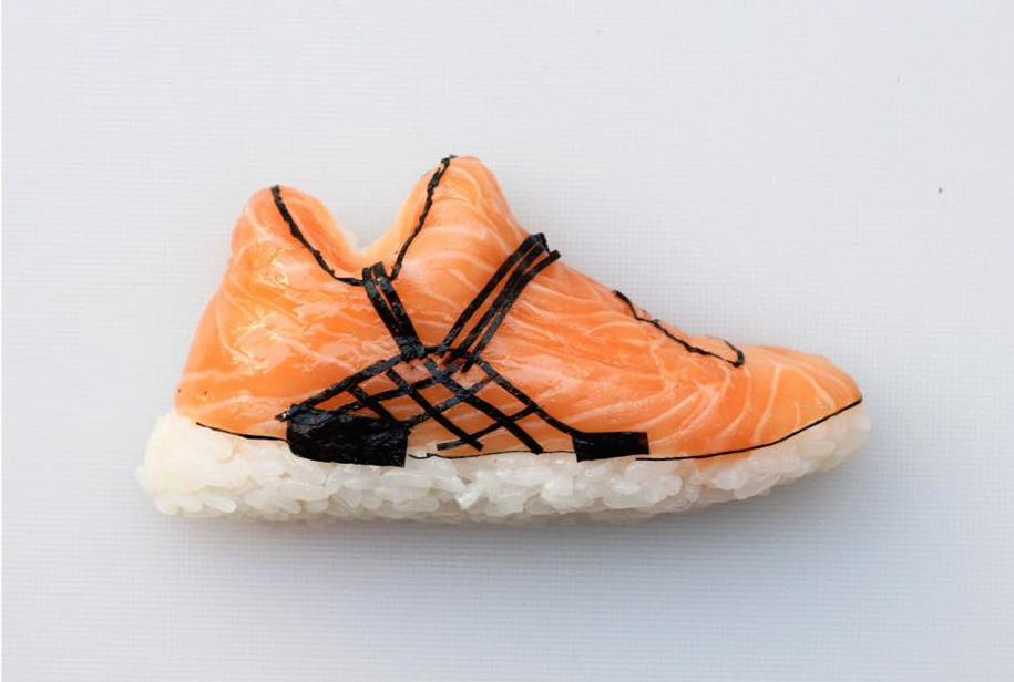 Shoe Shi The Sneakers Made Of Sushi By Yujia Hu 10