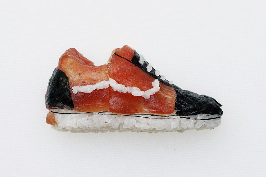 Shoe Shi The Sneakers Made Of Sushi By Yujia Hu 4