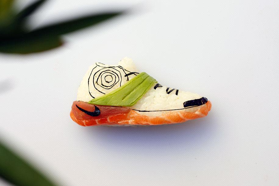 Shoe Shi The Sneakers Made Of Sushi By Yujia Hu 6