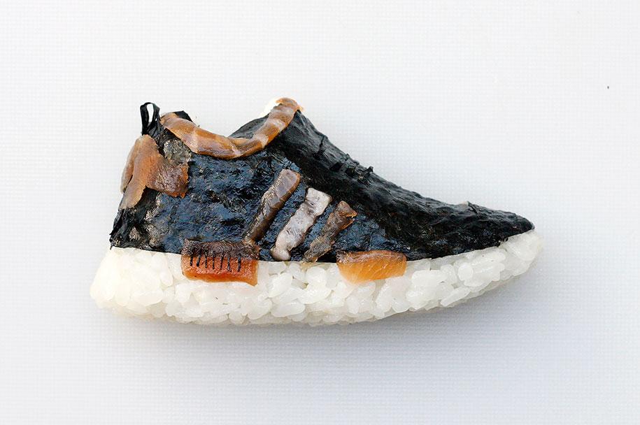 Shoe Shi The Sneakers Made Of Sushi By Yujia Hu 8