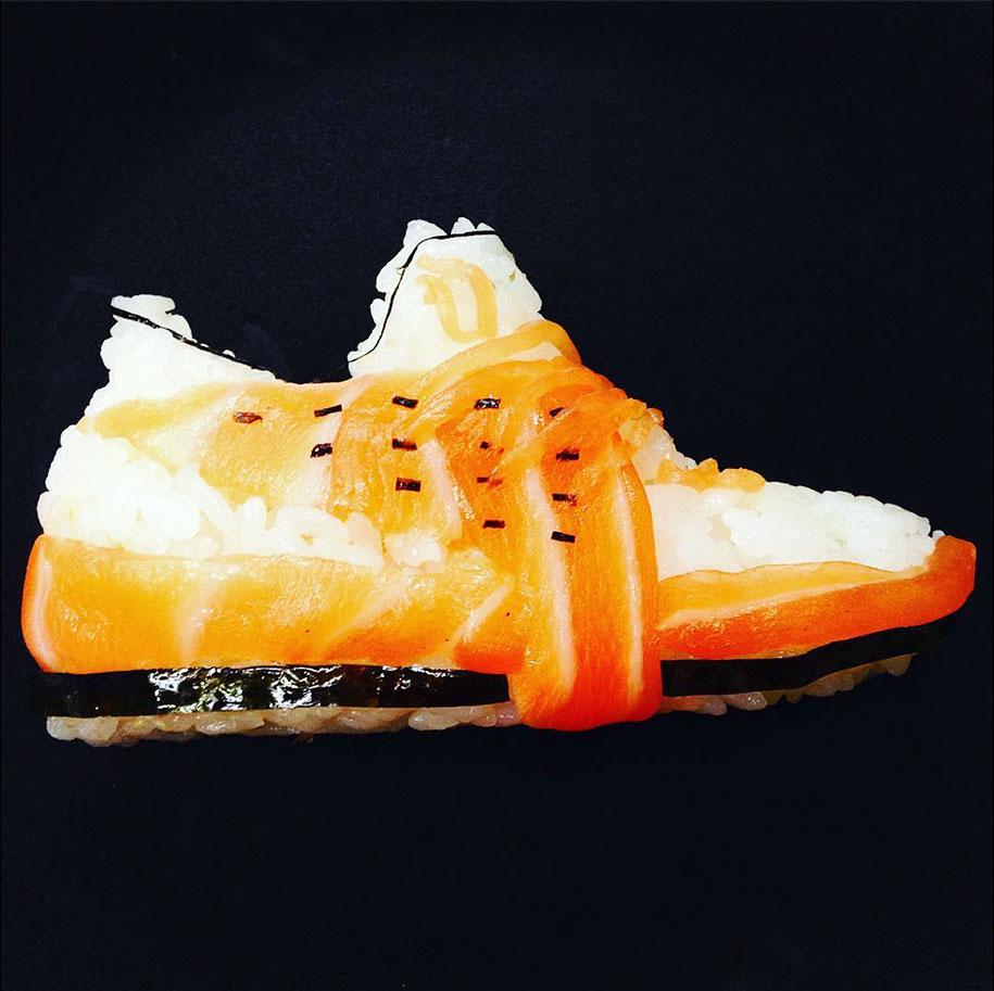 Shoe Shi The Sneakers Made Of Sushi By Yujia Hu 9