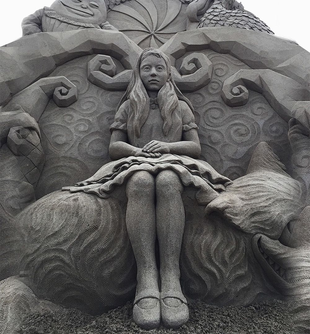 The Incredibly Intricate Sand Sculpture Of Toshihiko Hosaka 1