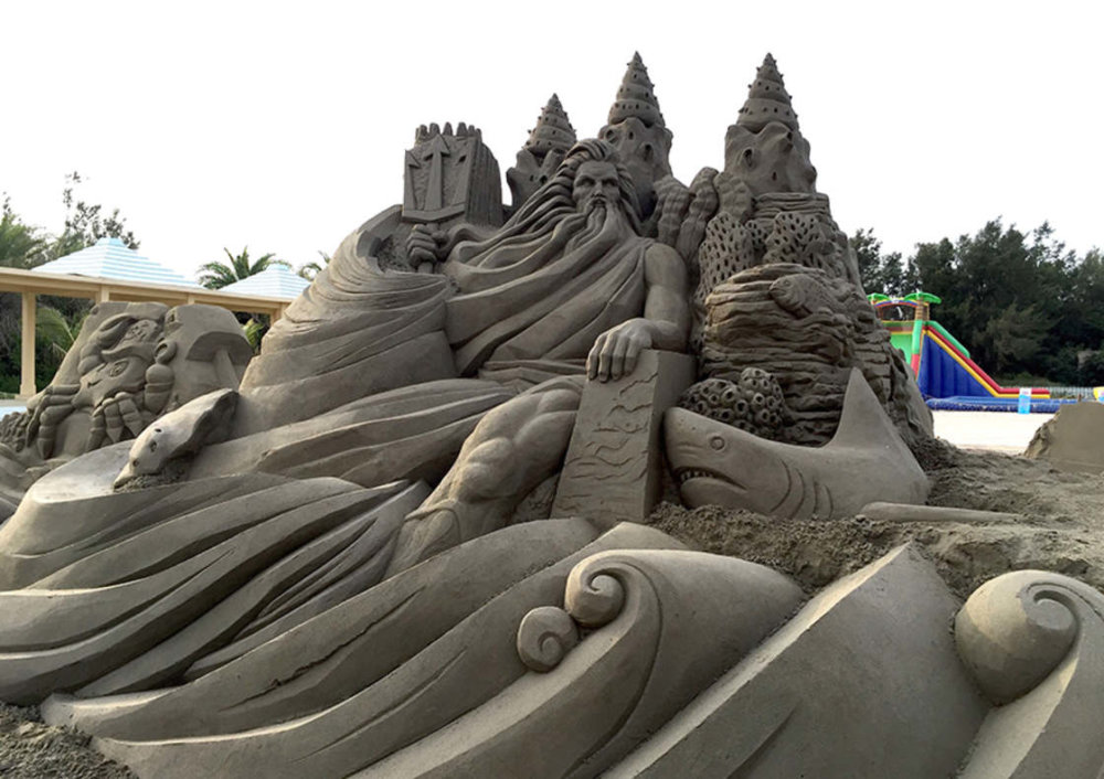 The Incredibly Intricate Sand Sculpture Of Toshihiko Hosaka 10