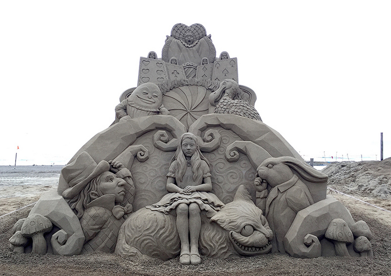 The Incredibly Intricate Sand Sculpture Of Toshihiko Hosaka 2