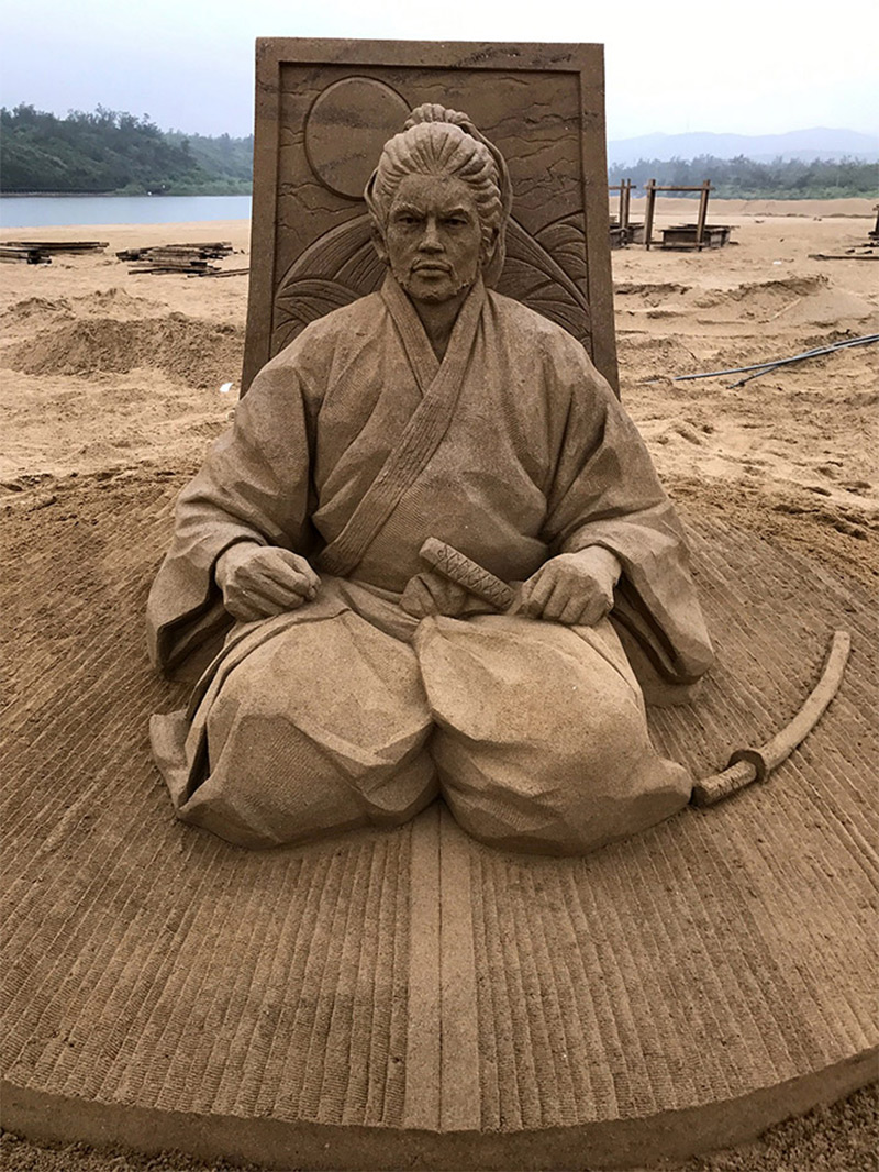 The Incredibly Intricate Sand Sculpture Of Toshihiko Hosaka 5