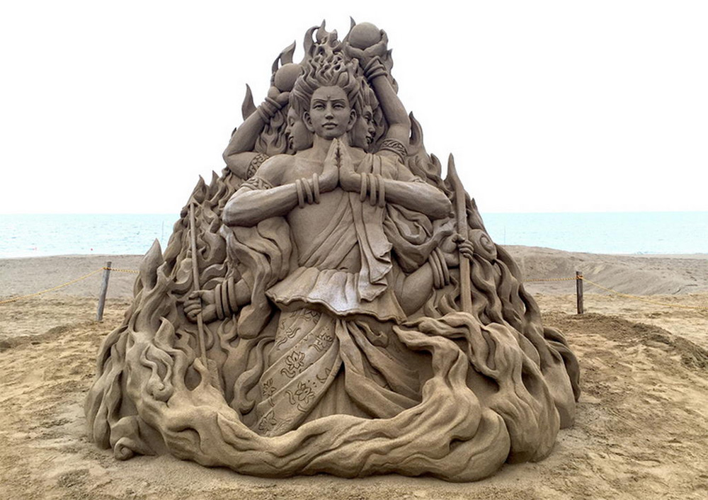 The Incredibly Intricate Sand Sculpture Of Toshihiko Hosaka 6