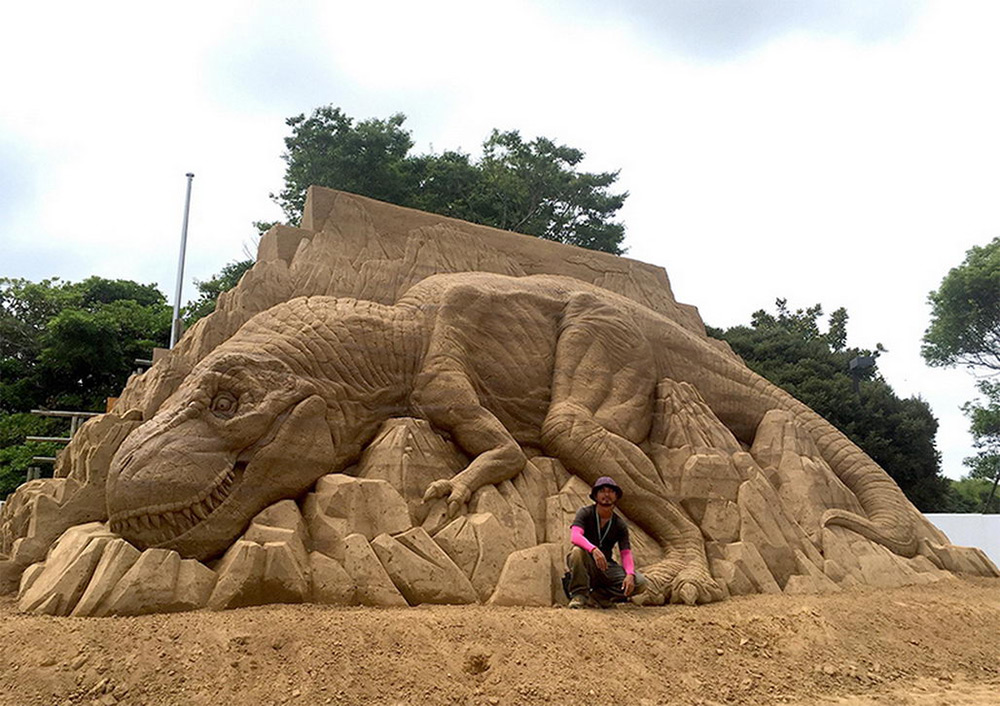 The Incredibly Intricate Sand Sculpture Of Toshihiko Hosaka 7