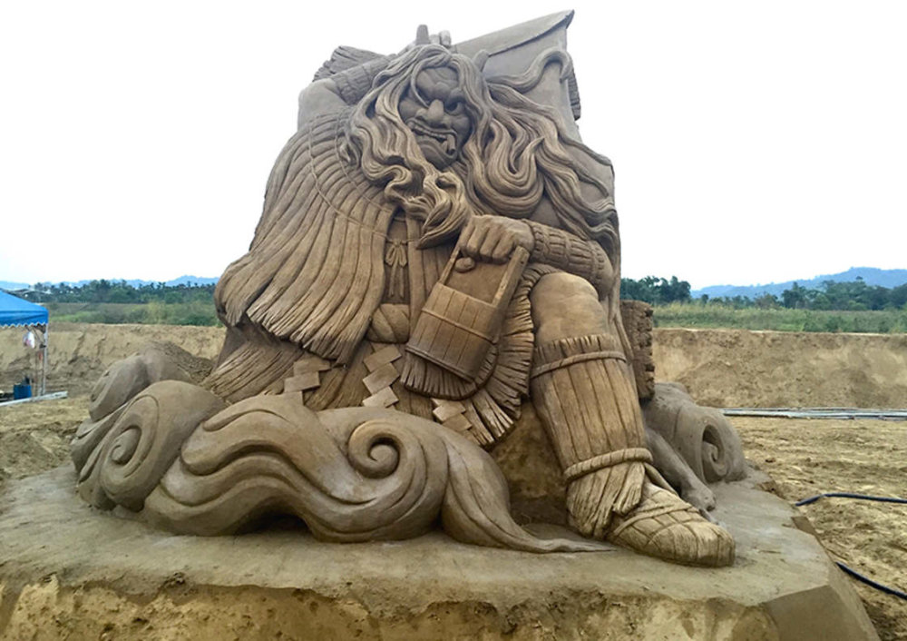 The Incredibly Intricate Sand Sculpture Of Toshihiko Hosaka 8