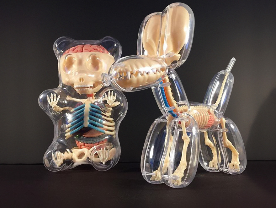 The Internal Anatomy Of Popular Toys Revealed By The Sculptures Of Jason Freeny 1