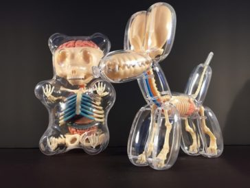 The internal anatomy of popular toys revealed by the sculptures of Jason Freeny