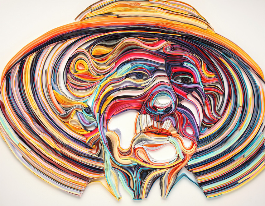 The Vibrant And Colorful Paper Quilling Art Of Yulia Brodskaya 3