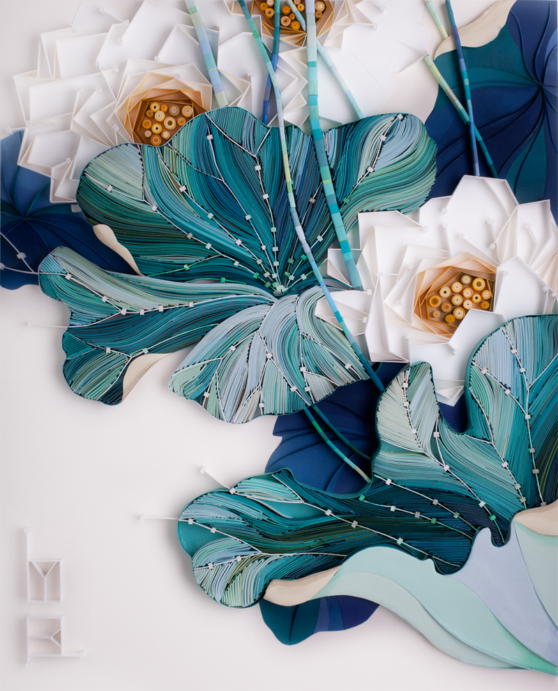 The Vibrant And Colorful Paper Quilling Art Of Yulia Brodskaya 7