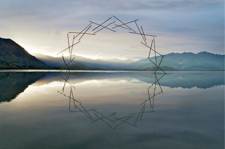 Environmental Art Interventions With Reflective Circle Sculptures By Martin Hill 2